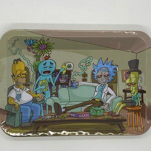 Rick and Morty Rolling Tray 5 X 7